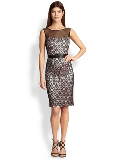 Laundry by Shelli Segal Lace Cocktail Dress