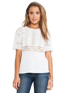 Rebecca Taylor Eyelet Top in White