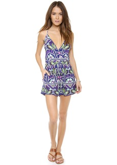 Mara Hoffman Ananda Cross Over Romper