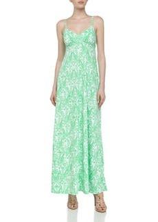 Susana Monaco Sleeveless Printed Jersey Maxi Dress, Zing