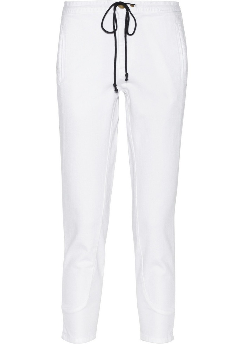 Marni High-rise tapered jeans