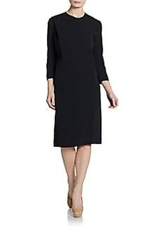 Calvin Klein Collection Stretch-Cady Shift Dress