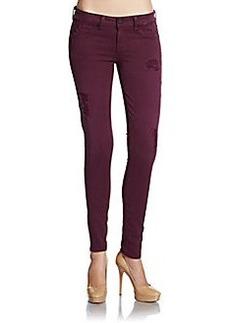 Saks Fifth Avenue GRAY Spring Street Skinny Jeans