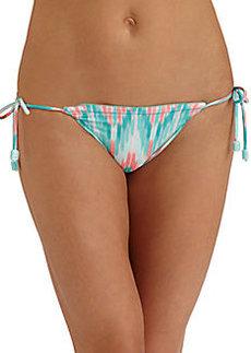 Shoshanna Cascade Ikat String Bikini Bottom