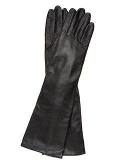 Charter Club Long Leather Gloves