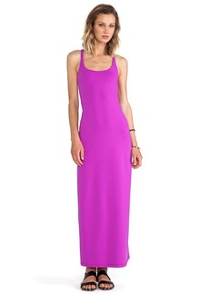 Susana Monaco Racer Back Maxi Dress in Fuchsia