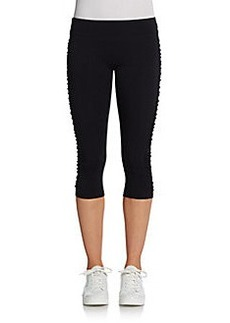 MARC NEW YORK by ANDREW MARC Performance Ruched Cropped Leggings