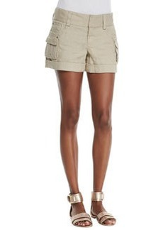 Cady Twill Cargo Shorts   Cady Twill Cargo Shorts