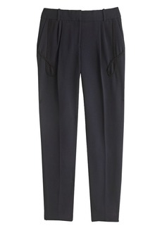 Collection pant in crepe