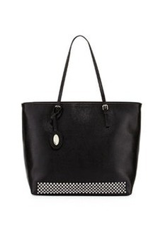Furla D-Light Studded Medium Tote, Onyx