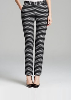 DIANE von FURSTENBERG Pants - Mary Honeycomb Stretch