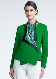 Etro Draped-Collar Jacket