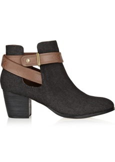 12th Street by Cynthia Vincent Mailea denim ankle boots