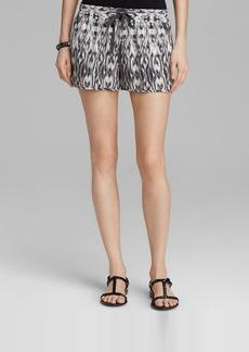Joie Shorts - Layana Ikat Stripe Silk