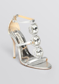 Badgley Mischka Open Toe Evening Sandals - Harvey High Heel
