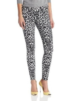 Hue Women's Leopard Jeans Leggings