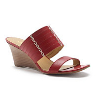 "Nine West® ""Rushout"" Stacked Wedge Sandals"