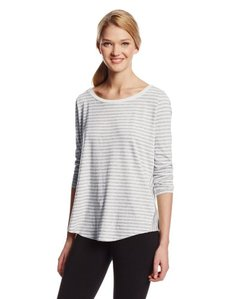 Calvin Klein Performance Women's Cross Over Back Stripe Tee