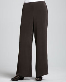 Go Silk Full-Leg Silk Pants, Women's