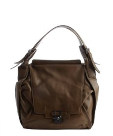Kooba taupe leather 'Valerie' shoulder bag