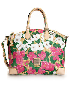 Dooney & Bourke Flowers Satchel