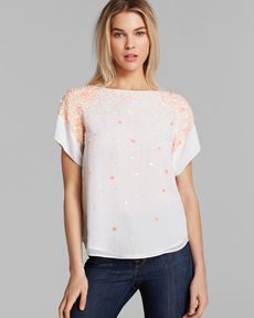 FRENCH CONNECTION Top - Sweet Mix Sequins
