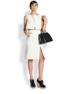 Jil Sander Recipe Pencil Skirt