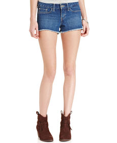 Levi's® Juniors' Frayed Cut-Off Shorts