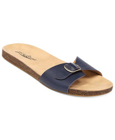 Lucky Brand Women's Dolliee Flat Slide Sandals