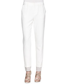 J Brand Ready to Wear Marianne Straight-Leg Trousers