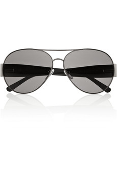 Givenchy Aviator metal sunglasses