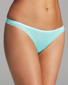 Calvin Klein Underwear Thong - Bottoms Up #D3445
