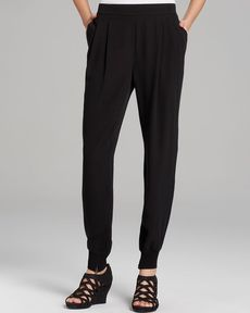 Eileen Fisher Ankle Pants with Zip Cuffs