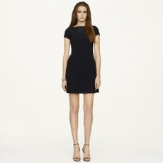 Stretch-Wool McClain Dress