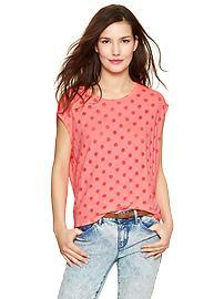 Burnout dot tee