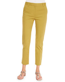 Classic Pencil Pants, Avocado   Classic Pencil Pants, Avocado