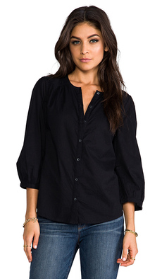 Soft Joie Sunday Rose Blouse in Black