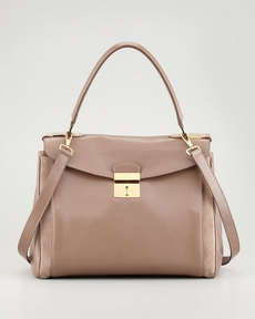 Marc Jacobs Metropolitan Flap-Top Satchel Bag, Brown