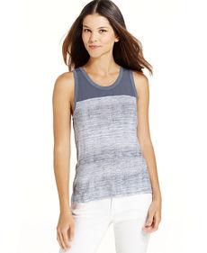 Calvin Klein Jeans Sleeveless Colorblock Tank Top