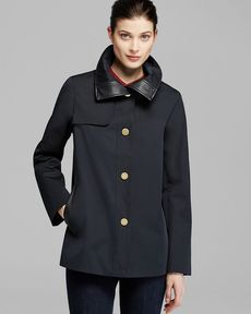 Ellen Tracy Coat - Single Breasted Swing