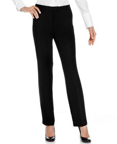 Jones New York Straight-Leg Pants, Black