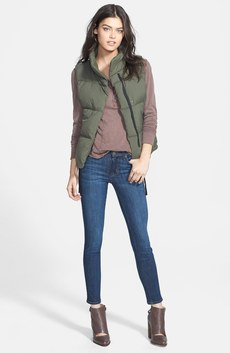 James Perse Down Vest, Free People Henley & Hudson Jeans Skinny Jeans