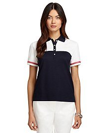 ProSport™ Slim Fit Color-Block Pique Polo