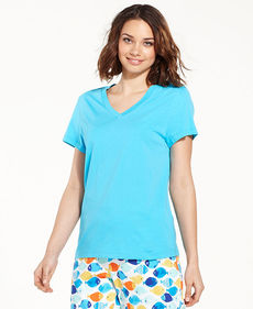 HUE V-Neck Pajama Top