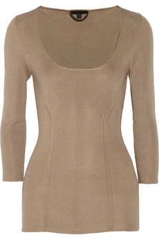Burberry Prorsum Fine-knit silk sweater
