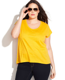 MICHAEL Michael Kors Plus Size Short-Sleeve Tee