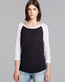rag & bone/JEAN Pullover - Lexie Color Block Raglan