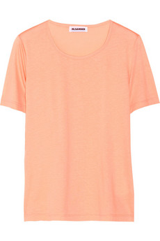 Jil Sander Cotton and modal-blend jersey T-shirt