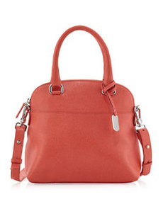 Furla Victoria Small Domed Satchel Bag, Speed