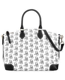 Dooney & Bourke Eva Collection Multi DB Satchel